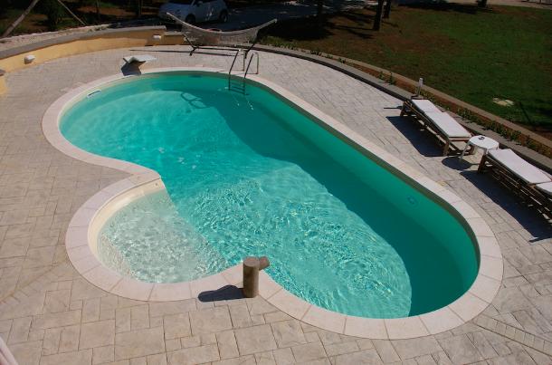 Forme standard di una piscina interrata blog i blue - Realizzare una piscina ...
