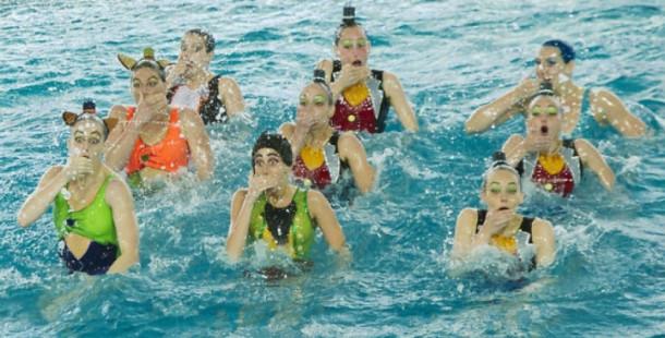 Il Nuoto Sincronizzato In Italia Blog I Blue