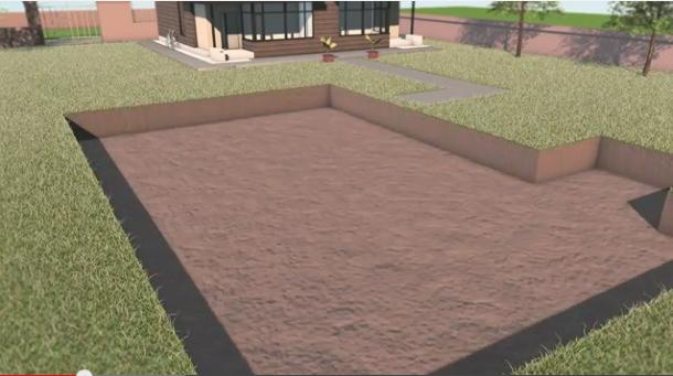 Quanto tempo ci vuole per costruire una piscina interrata blog i blue - Quanto costa una casa prefabbricata in cemento armato ...