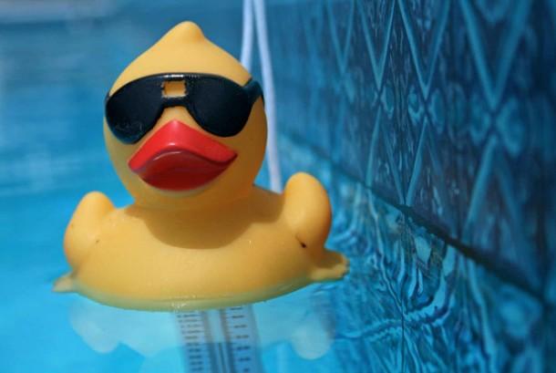 rubbery ducky